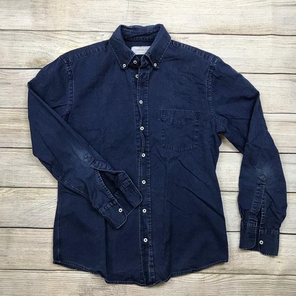 8d8e13745e Everlane Other - Mens EVERLANE Slim fit chambray denim shirt m